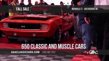 GAA Classic Cars Fall Sale TV Spot, '2020 Greensboro' - Thumbnail 5
