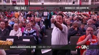 GAA Classic Cars Fall Sale TV Spot, '2020 Greensboro' - Thumbnail 6