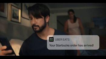 Uber Eats TV Spot, 'Starbucks Delivered' - Thumbnail 2