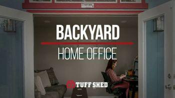 Tuff Shed TV Spot, 'Home Office' - Thumbnail 1