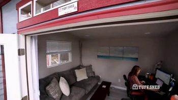 Tuff Shed TV Spot, 'Home Office' - Thumbnail 2