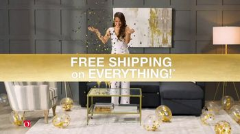 Overstock.com Customer Day TV Spot, 'Free Shipping on Everything' - Thumbnail 7