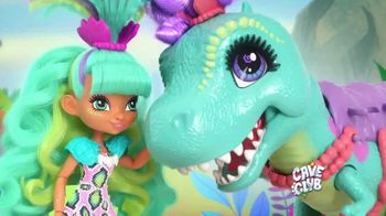 Cave Club Rockelle & Tyrasaurus Doll & Figure TV Spot, 'Besties'