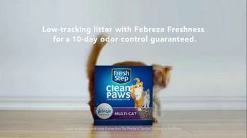 Fresh Step Clean Paws TV Spot, 'Cleaner Peets' - Thumbnail 7
