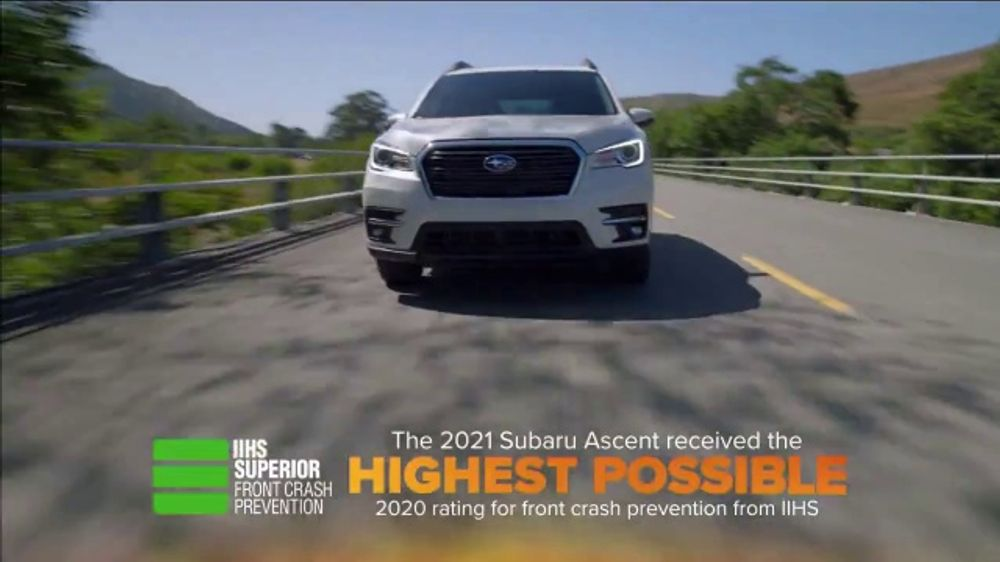 - 2021 Subaru Ascent TV Commercial, 'Fall in Love: Ascent ...
