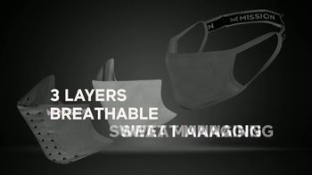 Mission Cooling Sports Masks TV Spot, 'Breathable' - Thumbnail 5