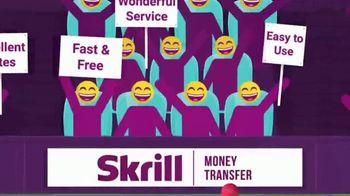 Skrill TV Spot, 'Excellent Rating'