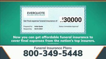EverQuote Advisor Intelligence TV Spot, 'Final Expenses' - Thumbnail 6