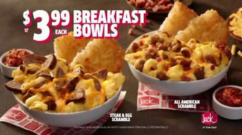Jack in the Box Breakfast Bowls TV Spot, 'Flavor Explosions' - Thumbnail 4
