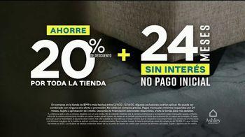 Ashley HomeStore Venta de Fin de Semana TV Spot, 'Enormes ahorros: cuatro años sin interés' [Spanish] - Thumbnail 3