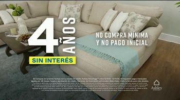 Ashley HomeStore Venta de Fin de Semana TV Spot, 'Enormes ahorros: cuatro años sin interés' [Spanish] - Thumbnail 5
