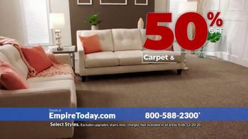 Empire Today 50-50-50 Sale TV Spot, 'Get Big Savings on Beautiful New Floors' - Thumbnail 2