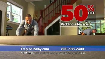 Empire Today 50-50-50 Sale TV Spot, 'Get Big Savings on Beautiful New Floors' - Thumbnail 3