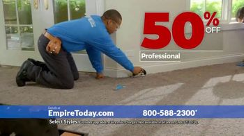 Empire Today 50-50-50 Sale TV Spot, 'Get Big Savings on Beautiful New Floors' - Thumbnail 8