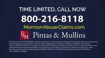 Pintas & Mullins Law Firm TV Spot, 'Mormon Church Victims' - Thumbnail 8