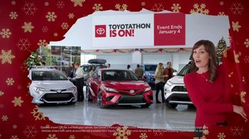 Toyota Toyotathon TV Spot, 'Wrapped Up' [T1] - 137 commercial airings