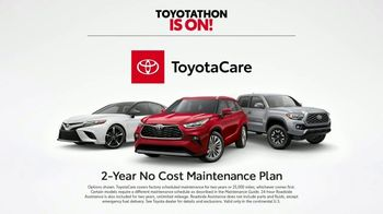 Toyota Toyotathon TV Spot, 'Wrapped Up' [T1] - Thumbnail 4