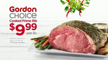 Gordon Food Service Store TV Spot, 'Holiday Deals: Prime Rib, Bacon, Eggs and Cookie Dough'