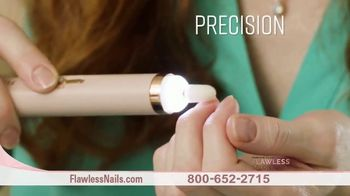Finishing Touch Flawless Salon Nails TV Spot, 'Spa Quality Nail Treatment: $19.99'
