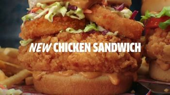 Jack in the Box Crafty Cluck Sandwich Combo TV Spot, 'New Chicken Dance' Featuring Becky G - Thumbnail 8
