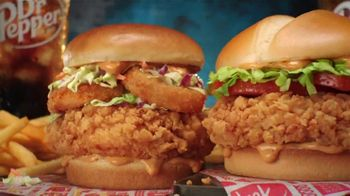 Jack in the Box Crafty Cluck Sandwich Combo TV Spot, 'New Chicken Dance' Featuring Becky G - Thumbnail 9