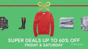 JCPenney Super Saturday Sale TV Spot, 'Jewelry, Kitchen Electrics and 30% Off' - Thumbnail 3
