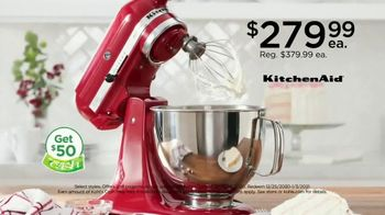 Kohl's TV Spot, 'Holiday Weekend: Stand Mixer, Toys, Diamond Jewelry' - Thumbnail 3