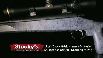 Stocky's Stocks AccuBlock TV Spot, 'Exceptional Accuracy' - Thumbnail 5