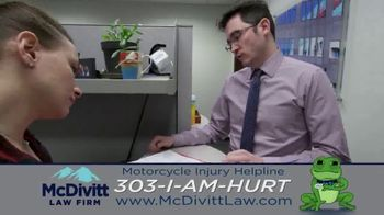 McDivitt Law Firm, P.C. TV Spot, 'Motorcycle Injury Helpline: Back Out There' - Thumbnail 10