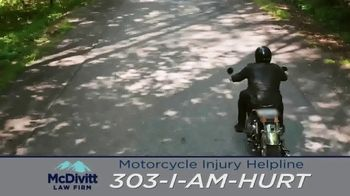 McDivitt Law Firm, P.C. TV Spot, 'Motorcycle Injury Helpline: Back Out There' - Thumbnail 5