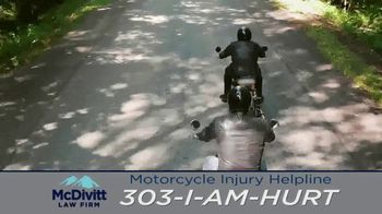 McDivitt Law Firm, P.C. TV Spot, 'Motorcycle Injury Helpline: Back Out There' - Thumbnail 6