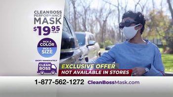 CleanBoss Performance Mask TV Spot, 'Don't Get the Job Done' Featuring Jabari Gray - Thumbnail 10
