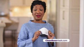 CleanBoss Performance Mask TV Spot, 'Don't Get the Job Done' Featuring Jabari Gray - Thumbnail 6