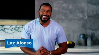 Lactaid TV Spot, 'BET: Mother's Milk' Featuring Laz Alonso - Thumbnail 2