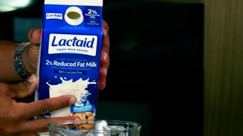 Lactaid TV Spot, 'BET: Mother's Milk' Featuring Laz Alonso - Thumbnail 4