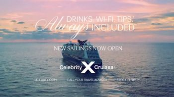 Celebrity Cruises TV Spot, 'Always Included' - Thumbnail 9