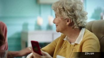 GreatCall Lively Flip TV Spot, 'Holiday Savings: Touch of a Button'