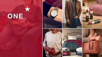 Macy's One Day Sale TV Spot, 'Holiday Shopping: Boots, Fragrances and Toys' - Thumbnail 1