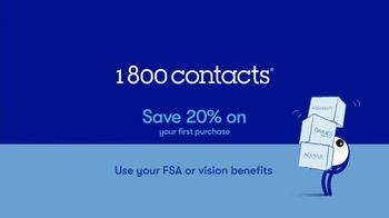 1-800 Contacts TV Spot, 'Alison, Bianca and Dwayne: 20% Off' - Thumbnail 9