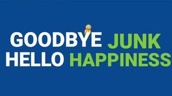 1-800-GOT-JUNK TV Spot, 'Goodbye Junk, Hello Happiness' - Thumbnail 2