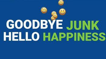 1-800-GOT-JUNK TV Spot, 'Goodbye Junk, Hello Happiness'