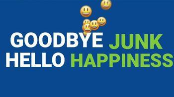 1-800-GOT-JUNK TV Spot, 'Goodbye Junk, Hello Happiness' - Thumbnail 4
