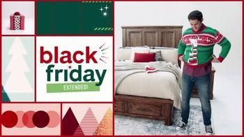 Ashley HomeStore Black Friday Sale TV Spot, 'Extended: Up to 50% Off and Doorbusters'