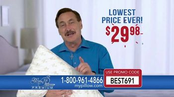 My Pillow Premium TV Spot, 'Wasn't Sleeping Well' - Thumbnail 7