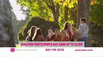 PRA Health Sciences TV Spot, 'Clinical Research Study: $3,000 Compensation' - Thumbnail 2
