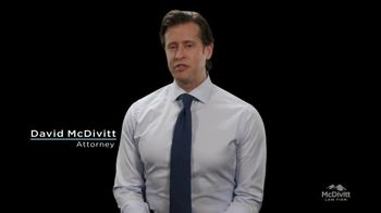 McDivitt Law Firm, P.C. TV Spot, 'First Case'