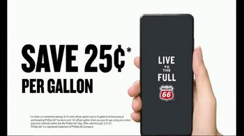 My Phillips 66 App TV Spot, 'Mobile Pay 25 Cents'