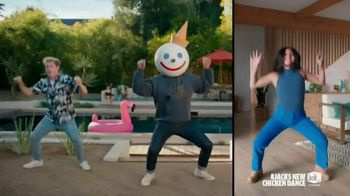 Jack in the Box Cluck Sandwich Combo TV Spot, 'New Chicken Dance' Featuring Becky G - Thumbnail 6