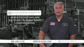 Keller, Fishback & Jackson TV Spot, 'Asbestos Victims'