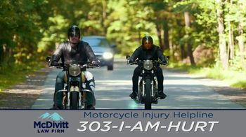 McDivitt Law Firm, P.C. TV Spot, 'Motorcycle Injury Helpline'